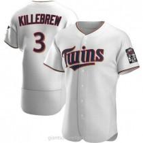 Mens Harmon Killebrew Minnesota Twins Authentic White Home A592 Jersey