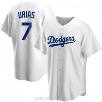Mens Julio Urias Los Angeles Dodgers #7 Replica White Home A592 Jersey