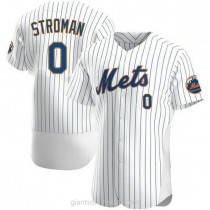 Mens Marcus Stroman New York Mets 0 Authentic White Home A592 Jersey