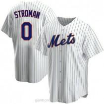 Mens Marcus Stroman New York Mets Replica White Home A592 Jersey