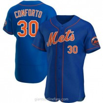 Mens Michael Conforto New York Mets #30 Authentic Royal Alternate A592 Jersey