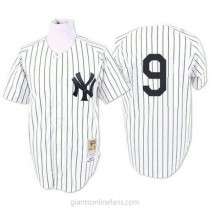 Mens Mitchell And Ness Roger Maris New York Yankees #9 Authentic White 1961 Throwback A592 Jersey