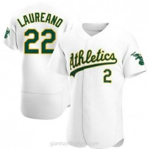 Mens Ramon Laureano Oakland Athletics Authentic White Home A592 Jersey