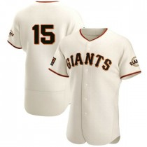 Mens San Francisco Giants Bruce Bochy Authentic Cream Home Jersey