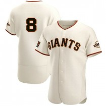 Mens San Francisco Giants Gary Carter Authentic Cream Home Jersey