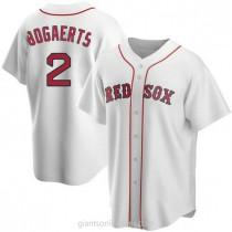 Mens Xander Bogaerts Boston Red Sox #2 Replica White Home A592 Jerseys