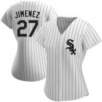 Womens Chicago White Sox #27 Lucas Giolito Authentic White Home Jersey
