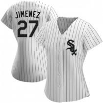 Womens Chicago White Sox #27 Lucas Giolito Replica White Home Jersey