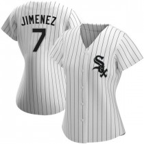 Womens Chicago White Sox #7 Tim Anderson Authentic White Home Jersey