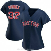 Womens Matt Barnes Boston Red Sox Replica Navy Alternate A592 Jersey