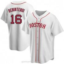 Youth Andrew Benintendi Boston Red Sox #16 Authentic White Alternate A592 Jersey