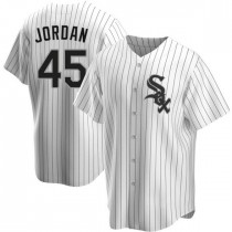 Youth Chicago White Sox #45 Michael Jordan Authentic White Home Jersey
