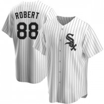 Youth Chicago White Sox #88 Luis Robert Replica White Home Jersey