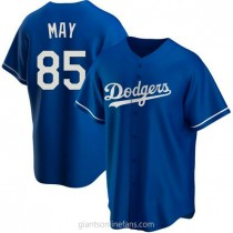 Youth Dustin May Los Angeles Dodgers #85 Authentic Royal Alternate A592 Jersey