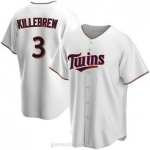 Youth Harmon Killebrew Minnesota Twins #3 Authentic White Home A592 Jersey