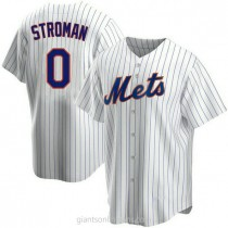 Youth Marcus Stroman New York Mets 0 Authentic White Home A592 Jersey