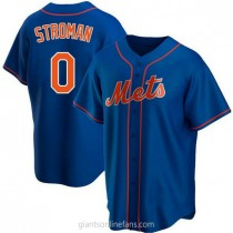 Youth Marcus Stroman New York Mets 0 Replica Royal Alternate A592 Jersey