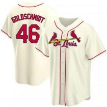 Youth Paul Goldschmidt St Louis Cardinals #46 Gold Cream Alternate A592 Jersey Authentic