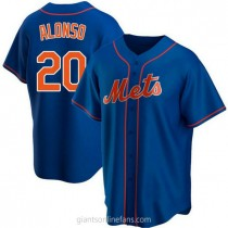Youth Pete Alonso New York Mets #20 Authentic Royal Alternate A592 Jerseys