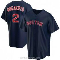 Youth Xander Bogaerts Boston Red Sox #2 Replica Navy Alternate A592 Jerseys
