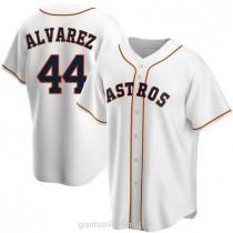 Youth Yordan Alvarez Houston Astros #44 Replica White Home A592 Jerseys